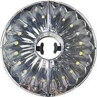 Uonlytech Patio Umbrella Light, 20 LED 100 lúmenes Lámpara desmontable para tienda de campaña, Paraguas de luz de paraguas para tiendas de campaña Umbrellas de patio Uso al aire libre (blanco cálido)