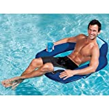 Swimways Spring Float SunSeat, Blue/Aqua