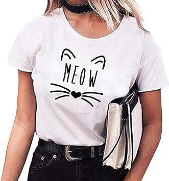 Camisa Verano Mujer Blusa Mujer Manga Larga Originales Casual Cuello en V Básica Blusas Camisas Tallas Grandes Color Sólido Sport Mujer Camisetas Mujer Blusa Mujer Manga Corta Camisetas(M,Blanco): Amazon.es: Iluminación