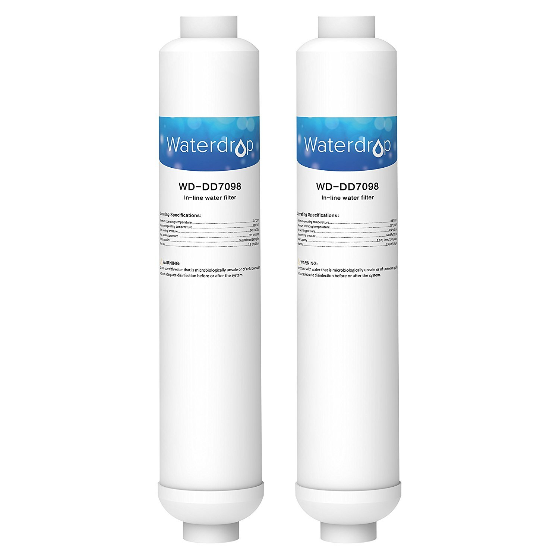 2 x DD-7098 Wasserfilter Siemens Daewoo Neff Bosch 497818 original