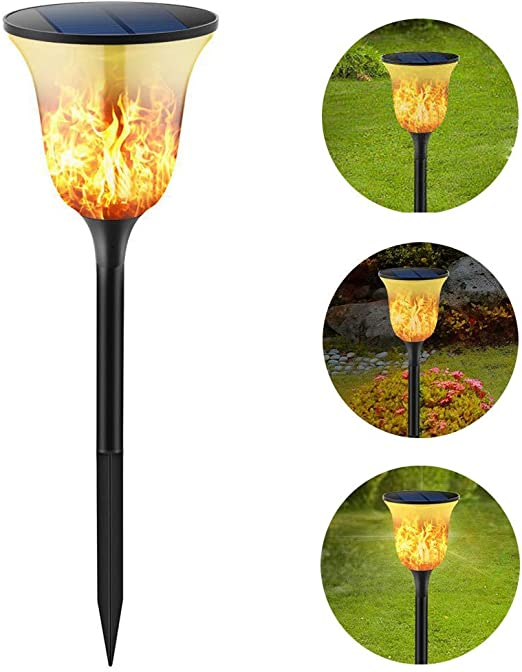 Luces solares Exteriores para jardín/Parpadeo a Prueba de Agua ...
