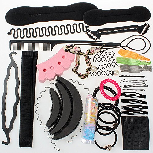 Neverland Beauty Hair Styling Accessories Tools Set Hair Twist Styling Clip