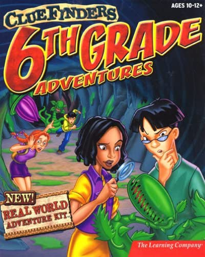 ClueFinders 6th Grade Adventures 611XYYD1BCL
