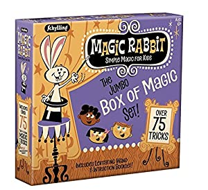 Schylling Magic Rabbit Jumbo Box of Magic Tricks Set