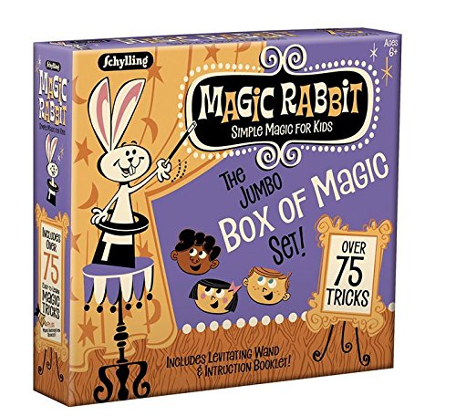 Schylling Magic Rabbit Jumbo Box of Magic Tricks - Magic Store Kids