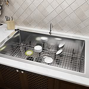 Heavy duty Stainless Steel Kitchen Sink 28inch 32inch Undermount Single Bowl Sink US STOCK (28)