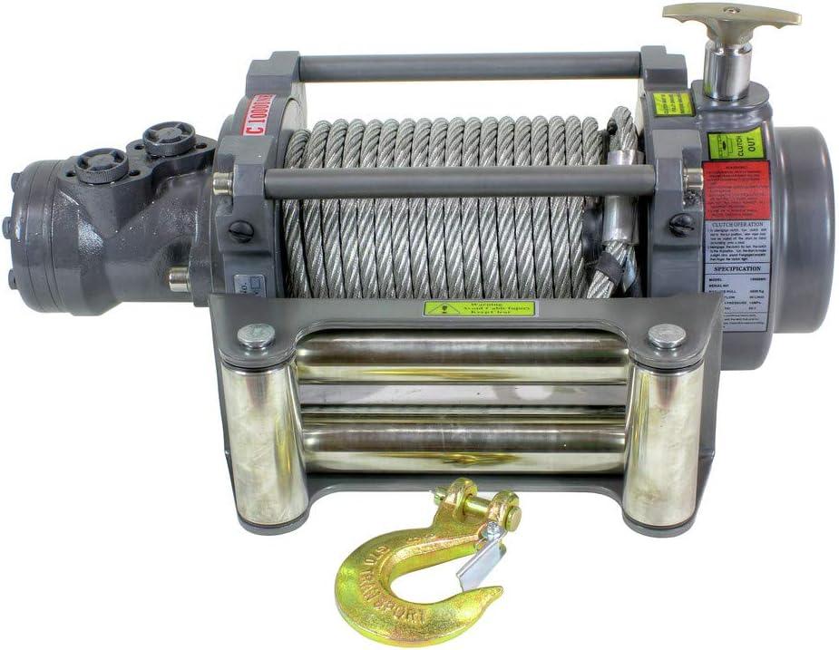 NH Series Hydraulic Winch Warrior Winches 10000NH 10,000 lb