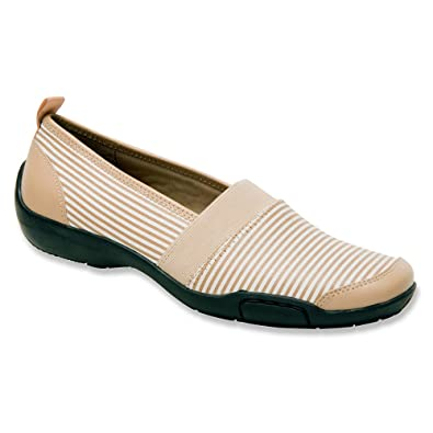 Amazon.com   Ros Hommerson Carol Women Round Toe Leather Nude Loafer    Loafers & Slip-Ons