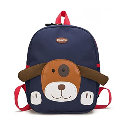 ALIKEEY Baby Boys Girls Kids Bag Dog Pattern Cartoon Backpack Toddler  School Bags Kindergarten Rucksack Cute b655054e0742f