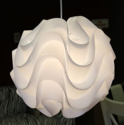 17 nuevo meringue modern ceiling suspension lamp with waved layers