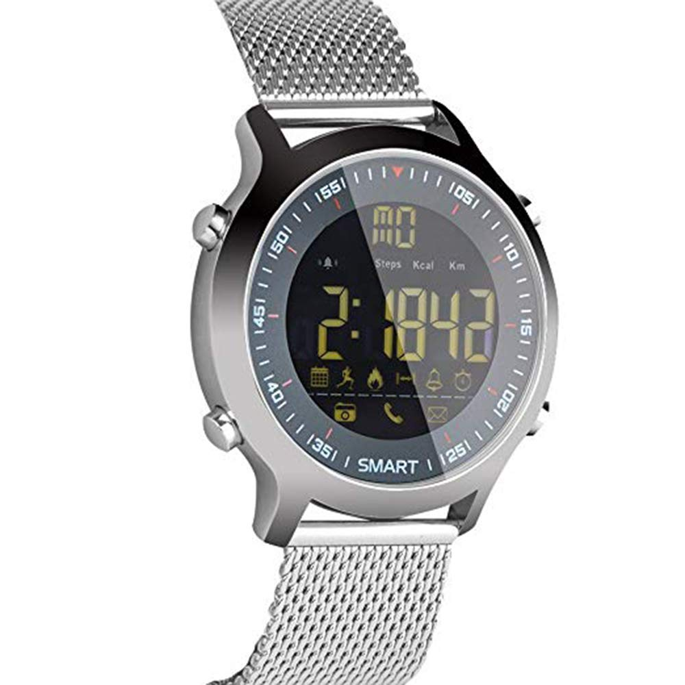 MEISHENG EX18 Smart Watch IP68 Tracker Fitness Impermeable ...