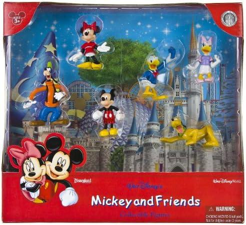 Walt Disney Mickey and Friends - Juego de figuras coleccionables (6 piezas): Amazon.es: Juguetes y juegos
