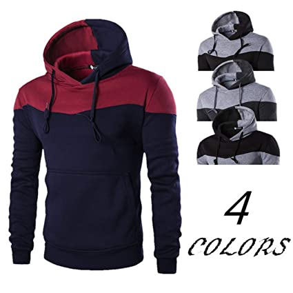 Mistere Autumn Clothes Hoodies Men Sudaderas Hombre Hip Hop Mens Hoodie Decorative Pocket Sweatshirt at Amazon Mens Clothing store: