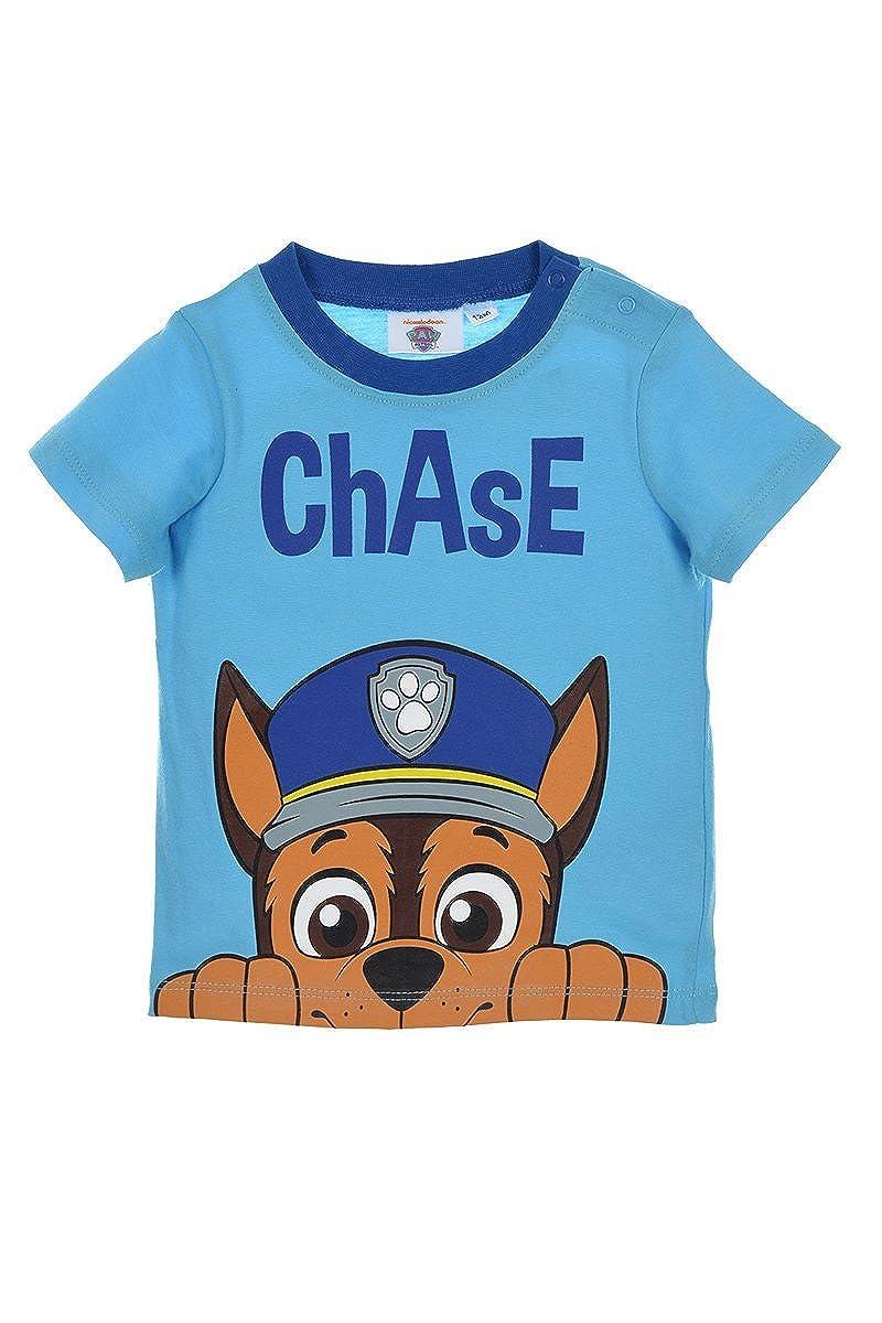 Pat Patrouille T Shirt Manches Courtes B/éb/é