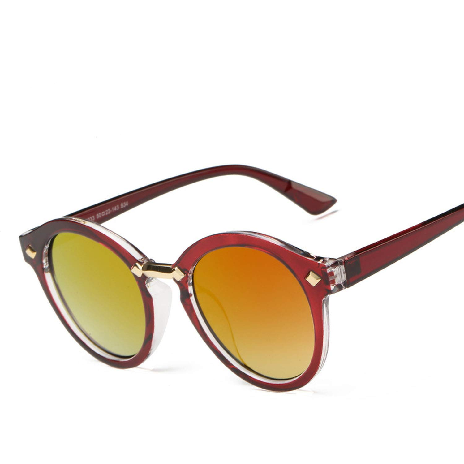 9c0d6c1fa64 Amazon.com  new 96033 sunglasses retro men and women frog mirror dazzling  color sunglasses 516  Clothing