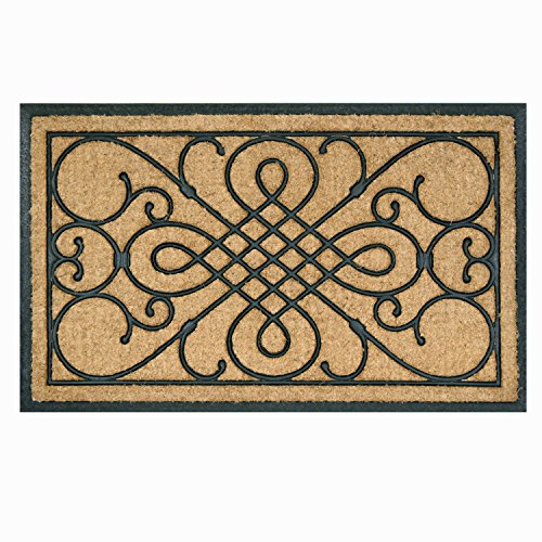 (Bacova Guild Koko Rubber Door Mat, Victoria Gate, 39
