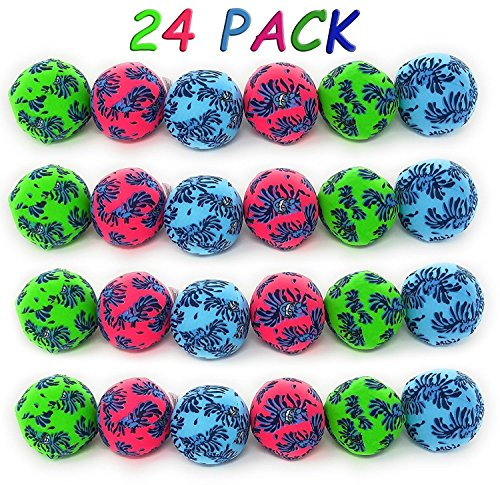 3 Inch Super Bowl - 4E's Novelty Water balls pack of 24 3 inches bright colors By
