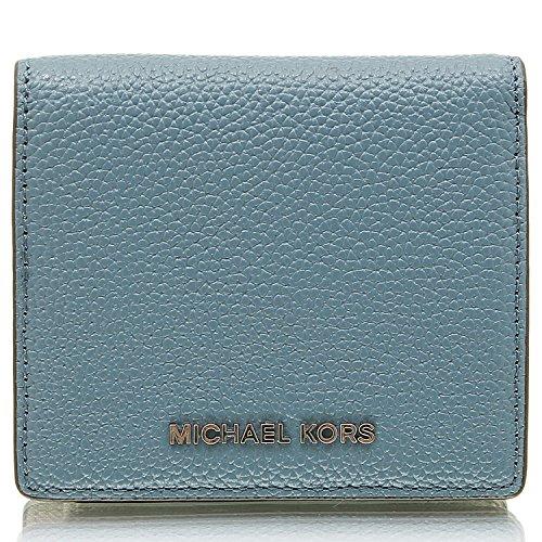 MICHAEL Michael Kors Mercer Carryall Card Case Denim Credit card - Card Store Credit Michael Kors