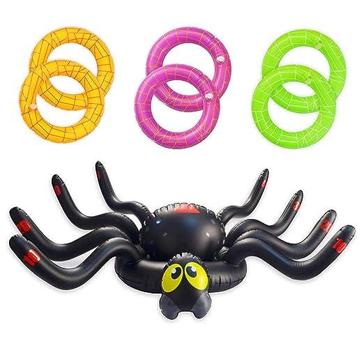 Einsgut - Juego hinchable de araña de 37 pulgadas, juego de ...