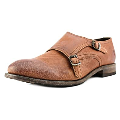 62c4389e4c7 FRYE Women s Ethan Double Monk Whiskey Buffalo Leather Loafer 6.5 B ...