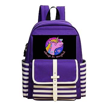 Amazon Com B1ts Cool Dream Unicorn Book Bag School Backpack Kids