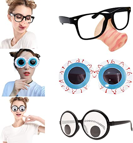 Novelty Daisy Flower Glasses Kids Adult Unisex Costume Fun Party Gift Favors