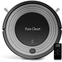 Pure Clean 96b Automatic Programmable Robot Vacuum Cleaner (Grey/Black)