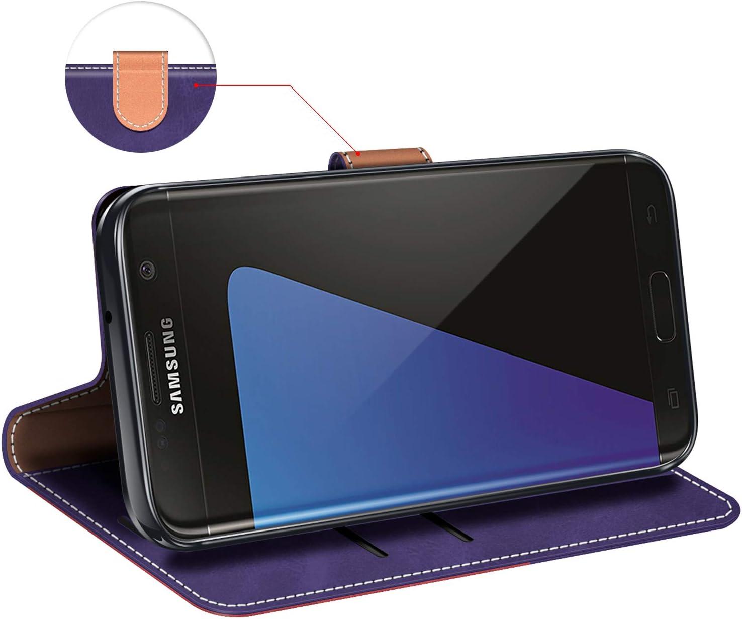 Funda Libro Samsung S7 Edge Violeta//Azul Oscuro MOBESV Funda para Samsung Galaxy S7 Edge Funda M/óvil Samsung Galaxy S7 Edge Magn/ético Carcasa para Samsung Galaxy S7 Edge Funda con Tapa