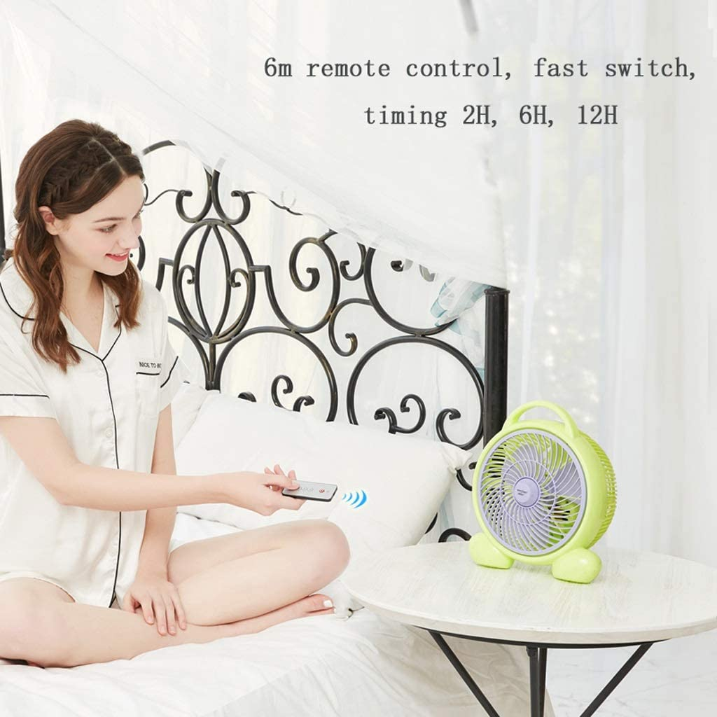 Portable Cooling Fan Quiet Desk Fan Small Table Fan 2 Speeds Personal Electric Fan for Office Home Color : Extended