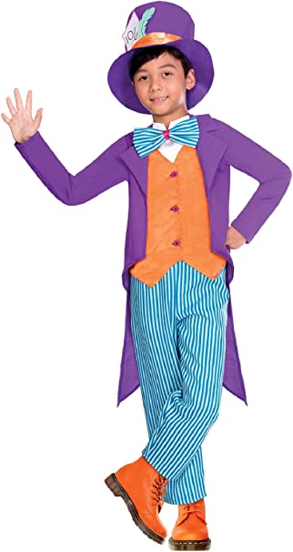 Rubie/'s Official Boys Disney Alice in Wonderland Mad Hatter Costume Medium