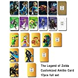 17pcs/pack The Legend of Zelda Series Customized Amiibo NFC Tag Cards with High Sensing Area