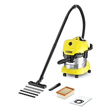 e1105263f Kärcher WD4 Premium Wet and Dry Vacuum: Amazon.co.uk: Kitchen & Home