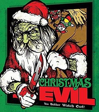 Evil Christmas.Amazon Com Christmas Evil Blu Ray Dvd Combo Brandon