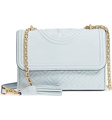 69fcf648a5a Amazon.com  Tory Burch Fleming Convertible Shoulder Bag (Seltzer)  Shoes