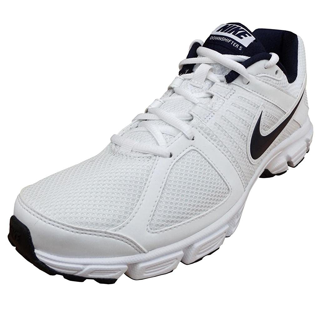 1447893c64311 Nike Downshifter 5 MSL Men s Running Casual Fashion Trainers Shoes White UK  11  Amazon.co.uk  Shoes   Bags