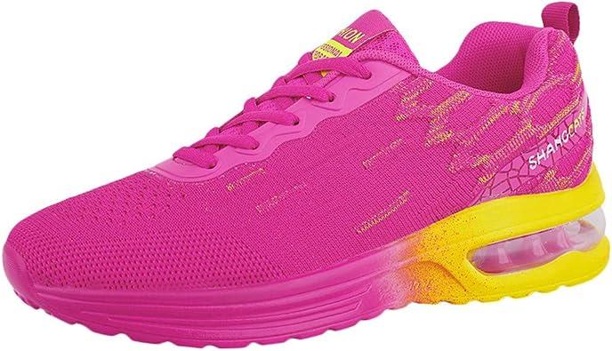 Qimanzi - Zapatillas de Running para Mujer, Transpirables, con Suela de Aire Hyun Light Antideslizante, Color Turquesa, Talla 39 EU: Amazon.es: Zapatos y complementos