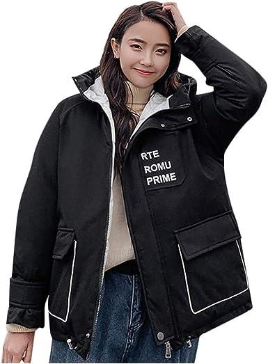 KXP Womens Fall Winter Solid Loose Hoodie Jacket Coat Sweatshirt Red M