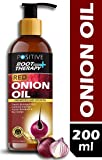 positive Root Therapy and Red Onion Hair Growth and Anti Dandruff Hair Oil, 200 ml