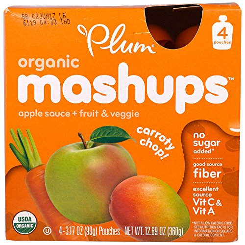 Plum Organics Organic Mashups Carroty product image