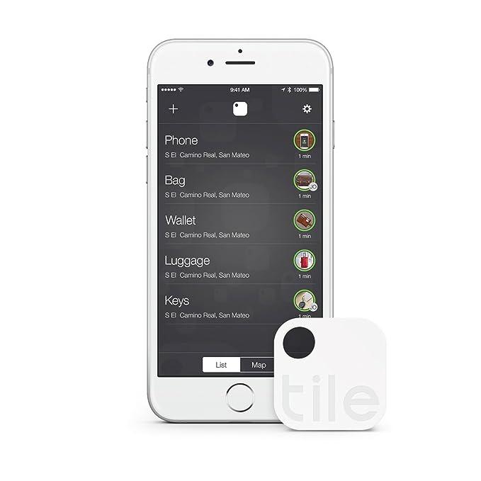 Tile (Gen 2) - Localizador GPS para móvil, Llaves (1 Unidad), Color Blanco (Importado): Amazon.es: Electrónica