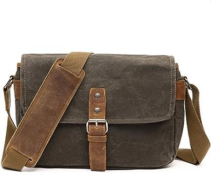 Men Retro Canvas Shoulder Bag Handbag Travelling Luggage Tote Bag Messenger Bag