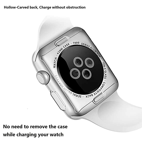 BATOP Apple Watch Screen Protector || Transparent TPU Protector Screen Protection case Soft Anti-