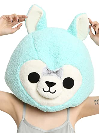 amazon com alpaca mascot head clothing