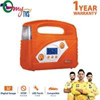 myTVS Portable Digital Auto Cut-Off Car Tyre Inflator with 1 Year Warranty
