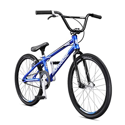 Mongoose Title Expert BMX Race Bike for Beginner Riders, Featuring Lightweight Tectonic T1 Aluminum Frame and Internal Cable Routing with 20-Inch Wheels, Blue best racing bike