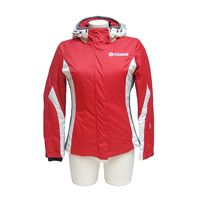 Colmar - Abrigo impermeable - para mujer Rossa/Bianca/grigia 36: Amazon.es: Ropa y accesorios
