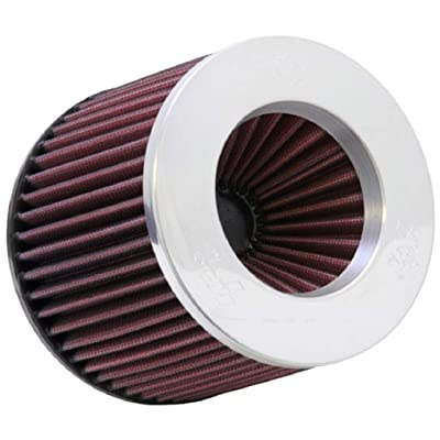K&N Reverse Conical Universal Air Filter: High Performance, Premium, Replacement Filter: Flange Diameter: 3 In, Filter Height: 5 In, Flange Length: 1.75 In, Shape: Round Reverse Tapered, RR-3003: Automotive