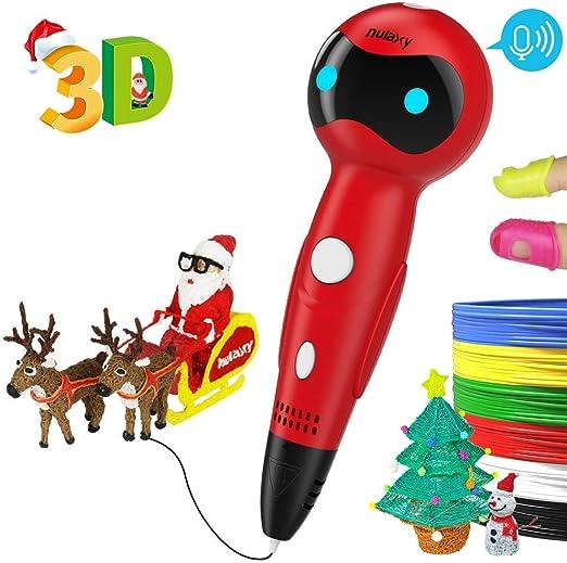 Pluma 3D Impresion,Nulaxy 3D Pen Niños Adultos,Pluma 3D ...