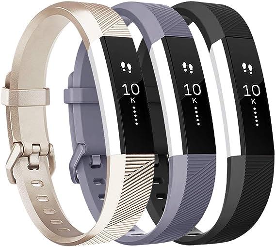 Imagen deTobfit Fitbit Alta HR Correa Ajustable Suave Deporte Correas de Repuesto para Fitbit Alta HR y Fitbit Alta