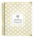 #2: bloom daily planners Undated Wedding Planner - Hard Cover Wedding Day Planner & Organizer - 9